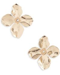 Shashi - Flower Earrings - Lyst
