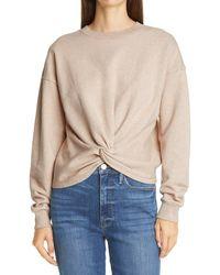 FRAME Twisted Sweatshirt - Natural
