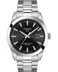 Tissot - T-classic Gentleman Powermatic Bracelet Watch - Lyst