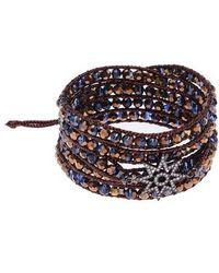 Nakamol Crystal Wrap Stretch Bracelet oT2ZO