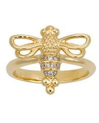 Temple St. Clair - Temple St. Clair Diamond Pave Bee Ring - Lyst