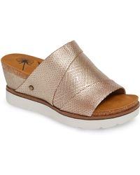 Otbt Earthshine Wedge Sandal - Brown