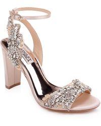 Badgley Mischka - Badgley Mischka Libby Ankle Strap Sandal - Lyst