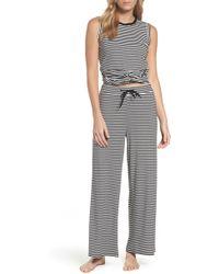 BB Dakota Stripe Pajamas - Black