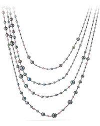David Yurman - Solari Pearl & Bead Multistrand Necklace - Lyst