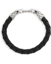 John Hardy - Legends Eagle Double Head Bracelet - Lyst
