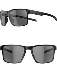 d6c055180f Lyst - adidas Wayfinder 56mm Sport Sunglasses - in Brown