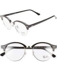 27d2458172b Lyst - Ray-Ban 7141 52mm Optical Glasses - in Brown