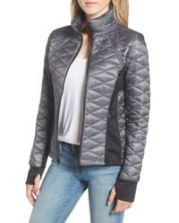 Guess - Quilted Jacket - Lyst