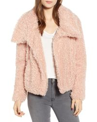 BISHOP AND YOUNG - Bishop + Young Faux Fur Crop Jacket - Lyst