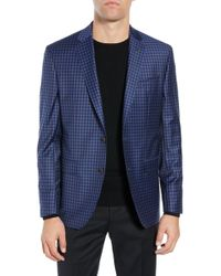 5031ef78b80ade Ted Baker - Jay Trim Fit Check Wool Sport Coat - Lyst