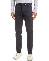 FRAME L'homme Slim Fit Twill Pants - Blue
