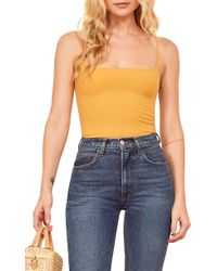 Reformation Carrie Camisole - Blue