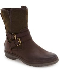 UGG UGG Simmens Waterproof Leather Boot - Brown