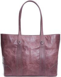 Frye - Melissa Shopper Tote Leather Handbag - Lyst