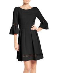 Eliza J | Bell Sleeve Dress | Lyst