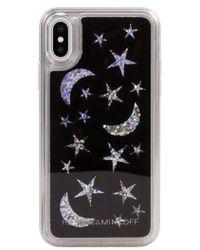 Rebecca Minkoff - See Through Me Glitter Galaxy Iphone X Case - Lyst