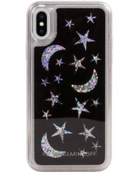 Rebecca Minkoff - See Through Me Glitter Galaxy Iphone X & Xs Case - Lyst