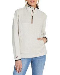 Billabong - Boundary Fleece Quarter Zip Pullover - Lyst