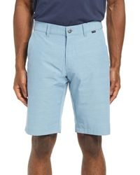 Travis Mathew Ready Or Not Shorts - Blue