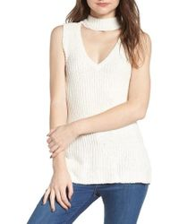 Cupcakes And Cashmere - Camdon Sleeveless Sweater - Lyst