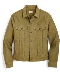 J.Crew - J.crew Garment Dyed Bedford Cord Trucker Jacket - Lyst