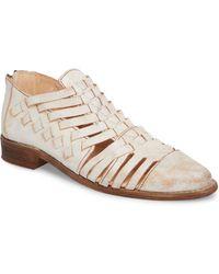 a4fb7f5b122c Lyst - Tory Burch Huarache Metallic Slip-on Sneaker in Metallic