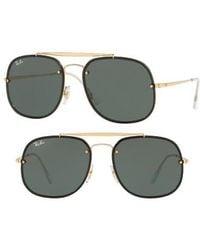 Ray-Ban - Blaze General 58mm Aviator Sunglasses - Lyst
