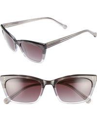 Colors In Optics - Briskell 55mm Gradient Cat Eye Sunglasses - Lyst