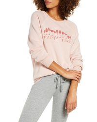 Project Social T - Party Time Lounge Top - Lyst
