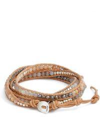 Chan Luu - Matte Sunstone 5-wrap Bracelet - Lyst