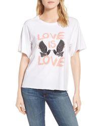 Rebecca Minkoff   Love Birds Lombardo Tee   Lyst