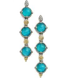 Konstantino - 'iliada' Triple Drop Earrings - Lyst