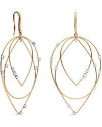 Lana Jewelry - Lana Solo Medium 3-tier Hoop Earrings - Lyst