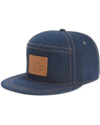 Lyst - Timberland Soundview Baseball Cap - in Natural for Men 2f9374e01a65