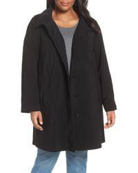 Gallery - Hooded Walking Coat - Lyst