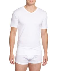 Calvin Klein 2-pack Stretch Cotton T-shirt, White