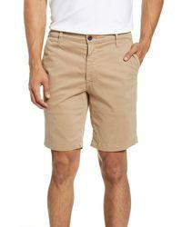 AG Jeans Wanderer Modern Slim Fit Shorts - Natural