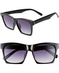 BP. 55mm Gradient Square Sunglasses - Black