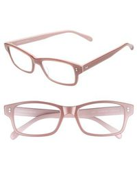 Corinne Mccormack - 'jess' 52mm Reading Glasses - Lyst