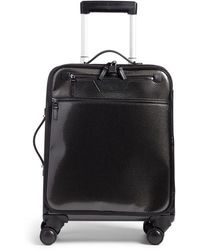 Stefano Serapian Trolley Spinner Wheeled Carry-on Suitcase - - Black