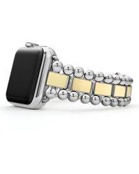 Lagos Smart Caviar Two-tone Watch Bracelet For 42/44mm Apple Watch - Multicolor