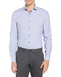 1901 - Trim Fit Solid Dress Shirt - Lyst