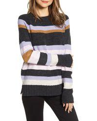 Caslon Caslon Cozy Crewneck Sweater - Gray
