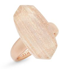 Kendra Scott Dani Cocktail Ring - Metallic