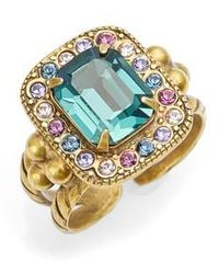 Sorrelli | Opulent Octagon Cocktail Ring | Lyst