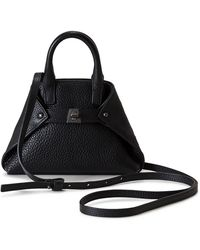 Akris - Tasche Micro Leather Crossbody Bag - - Lyst