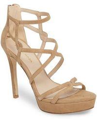 Pelle Moda - Olympic Platform Sandal - Lyst