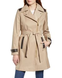 Via Spiga - Water Repellent Trench Coat - Lyst