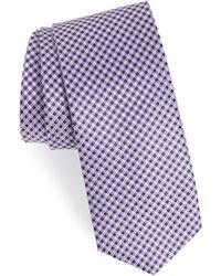 BOSS - Geometric Silk Tie - Lyst